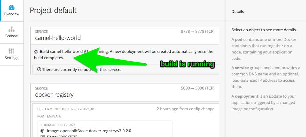 Use OpenShift to deploy Fuse